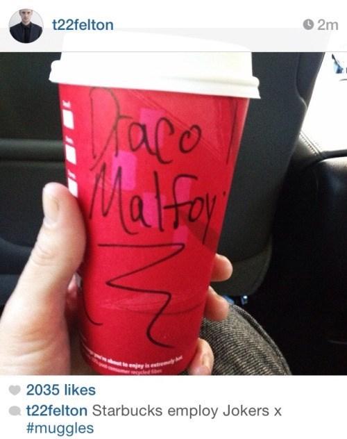 funny-instagram-pic-tom-felton-starbucks-draco