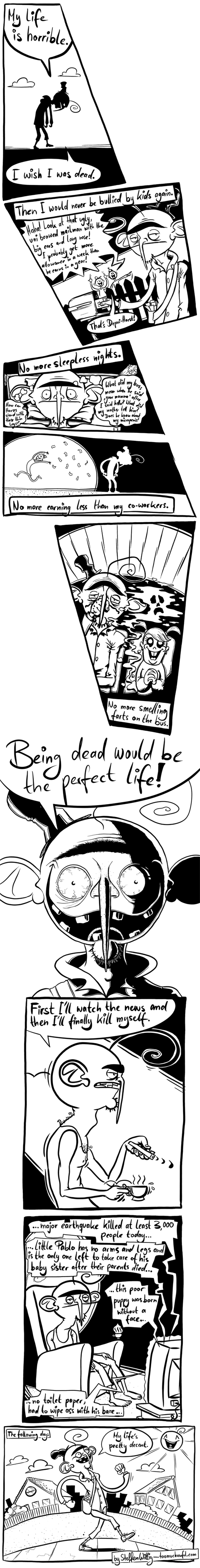 sad but true depression web comics - 8494042368