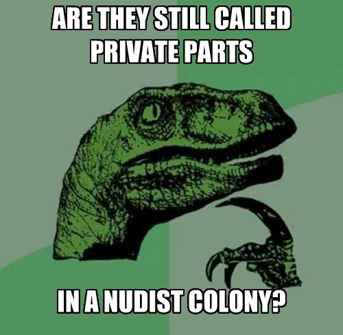 philosoraptor,private parts