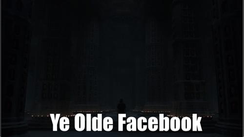 game of thrones - Black - Ye Olde Facebook