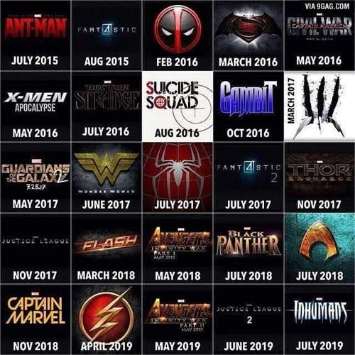 superheroes-marvel-dc-movie-lineups