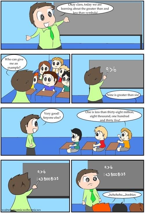 learning puns math web comics - 8495286272