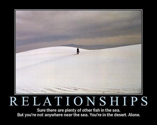 demotivational dating relationships The Search is On