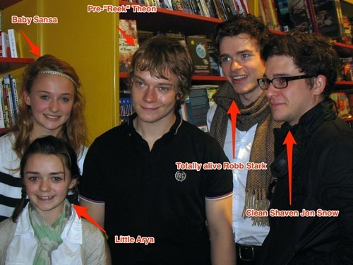game of thrones memes season 5 look at them all young!