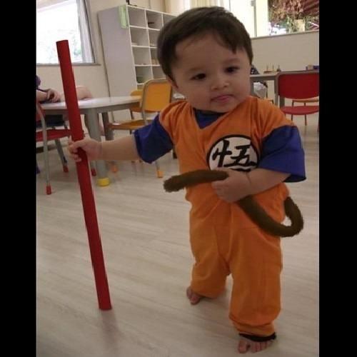 cosplay kids anime Dragon Ball Z - 8495568384