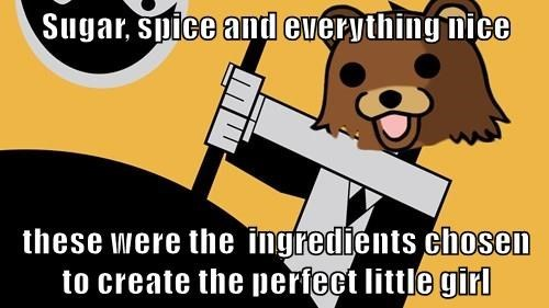 powerpuff girls pedobear cartoons memefield pls - 8495862016