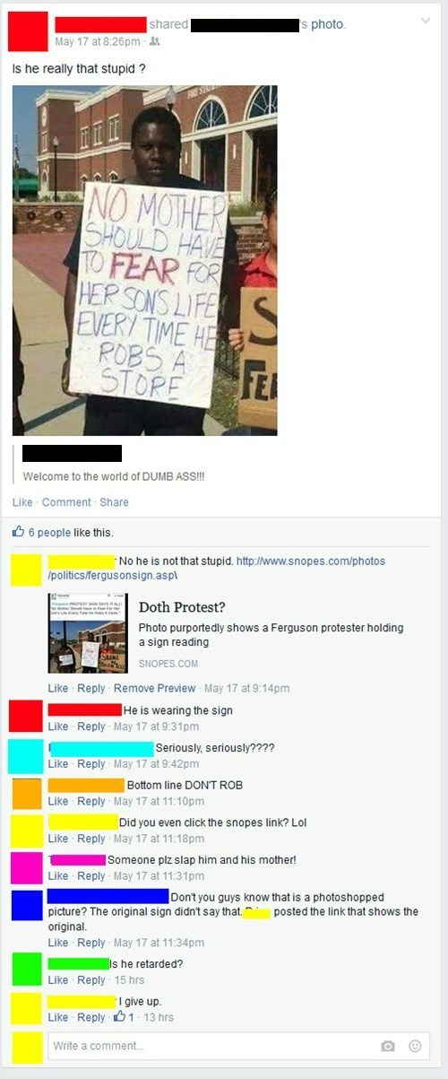 sign Protest facepalm fake photoshop politics failbook - 8495904768