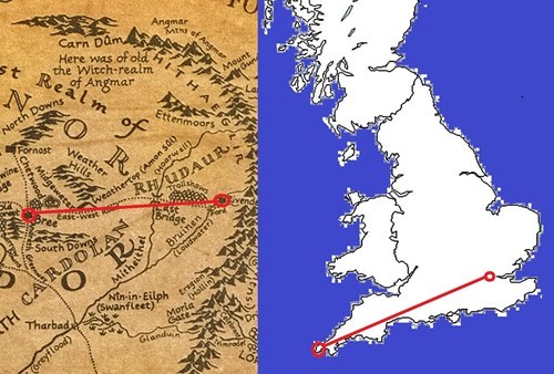 Map - Angmar Angmar Mth of Carn Dam, Here was of old the Witch-realm st Realm HITHAEp Mount Gun of Angmar North Downs Ettenmoors Fornost Weather Hills oH0arwall) asha weathertep RH UDAUR wine S ndws Trol EAtiewes Bree ivende CARDOLAN Nin-in Eilph Bruinen (LOuGwater) South Dow Mithei Ersgien 0Hollin) Morla CAte Glandu (Swanfleet) Tharbad redel Greyflood) LO R (Amon s0i) Midgewater Chetwood