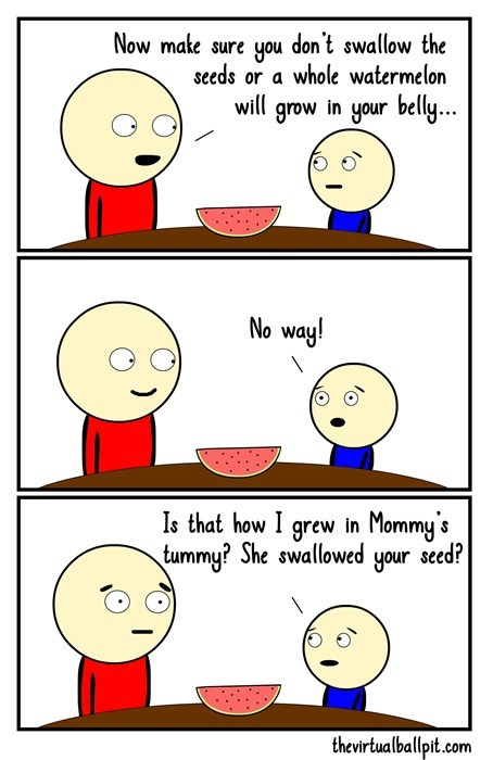 seeds sick truth kids parenting web comics - 8496118016