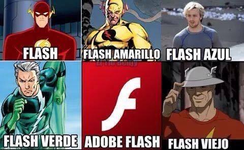 tipos de flash