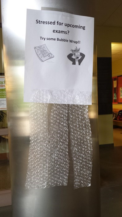 school bubble wrap sign Posting These Signs Should Be Mandatory