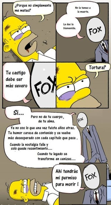 final de los simpsons