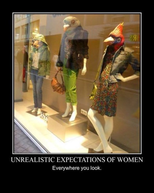 demotivational standards image You Can Never Win