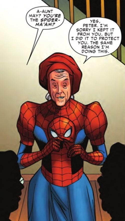 spider maam Aunt May Spider-Man - 8497412864