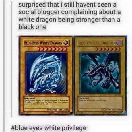 anime white privilege Yu Gi Oh - 8497417472