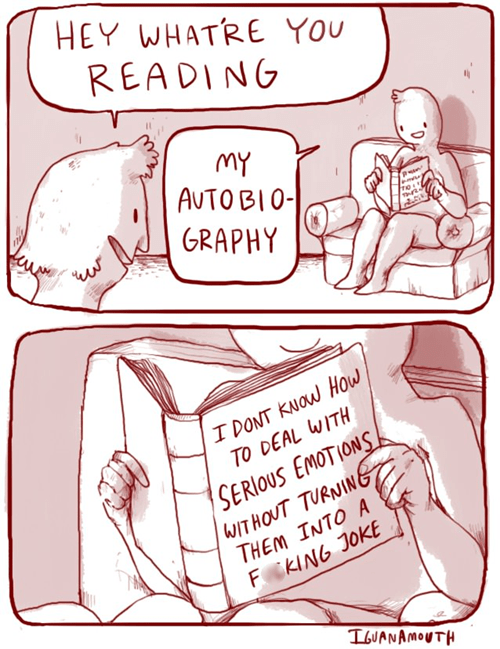 biography sad but true books web comics