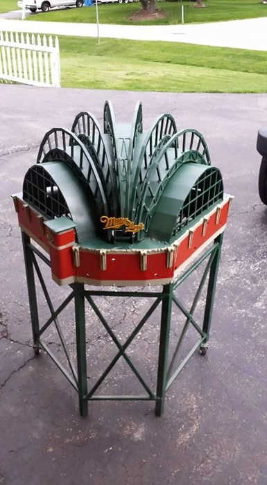 win grill image This Replica of the Milwaukee Brewer's Miller Park is a Grill