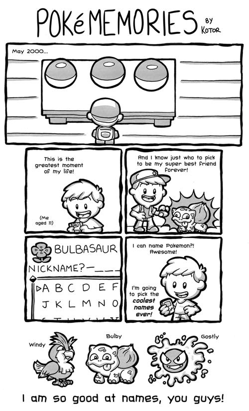 Pokémon Fan Art names web comics - 8498034432