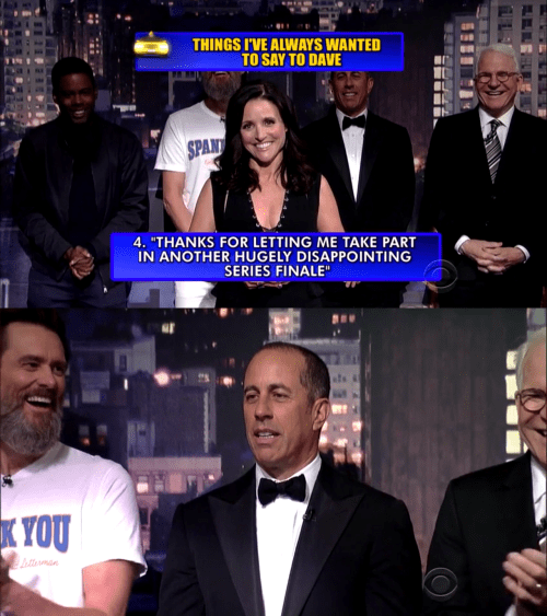 jerry seinfeld seinfeld julia louis dreyfus David Letterman - 8498132480