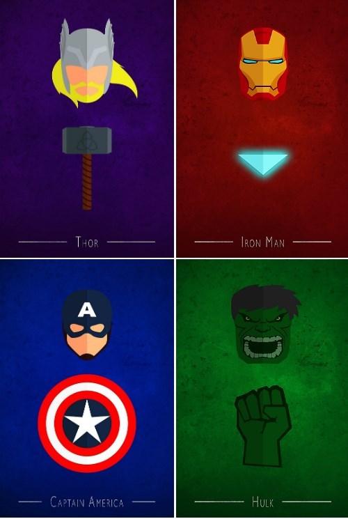 superheroes-avengers-marvel-minimalist-posters