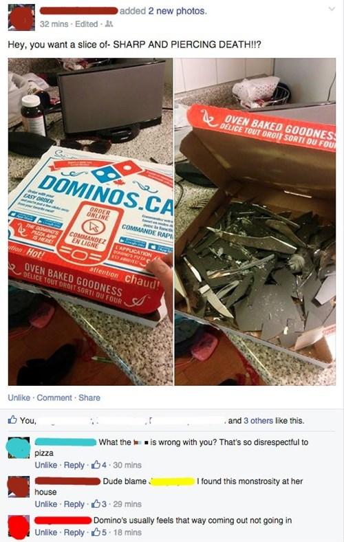 pizza dominos oh god why food failbook - 8498361600
