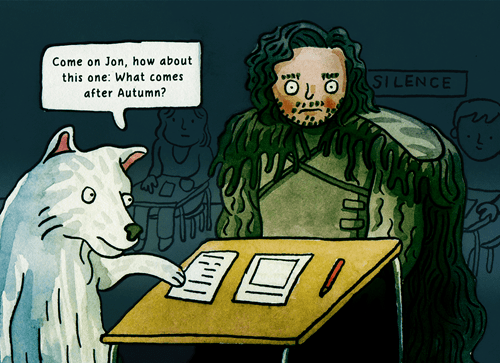 game of thrones memes season 5 Jon snow better know this.