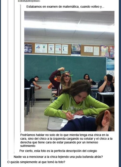 en examen