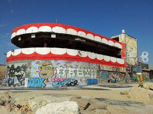 epic-win-pic-street-art-teeth-disco