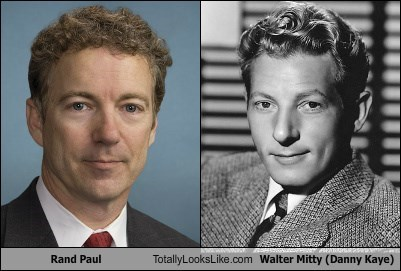 Rand Paul Totally Looks Like Walter Mitty (Danny Kaye)