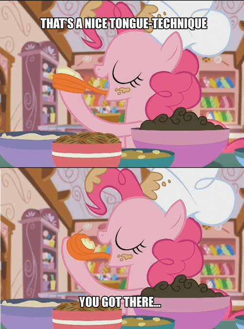 that looks naughty tongue pinkie pie - 8499476992