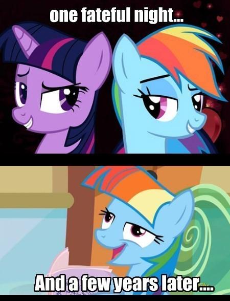 herp derp twilight sparkle ship rainbow dash - 8499515392