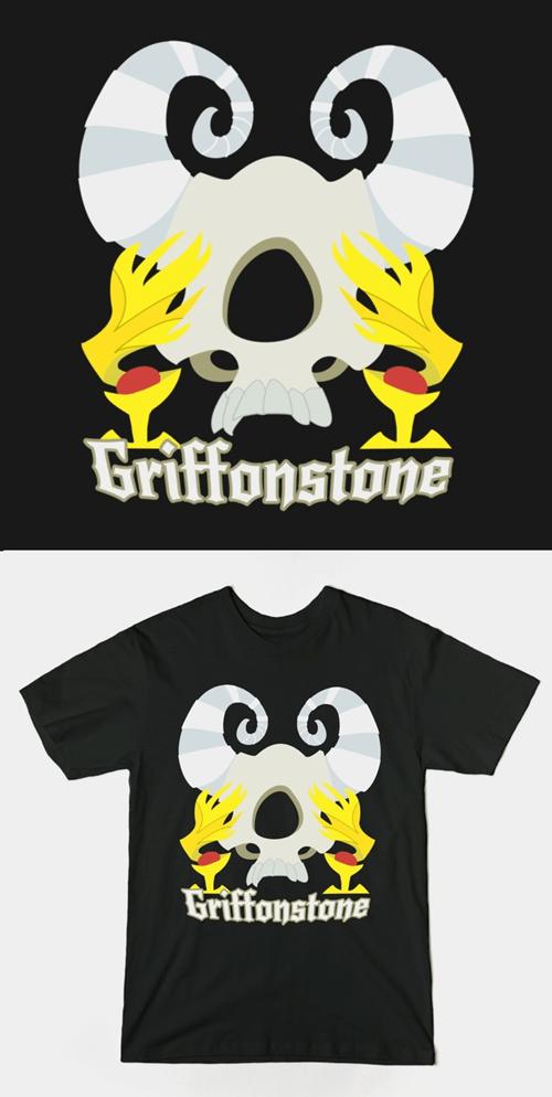 metal griffon tee shirt for sale MLP - 8499752960