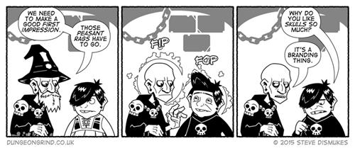 Witches wizards skulls web comics - 8500229120