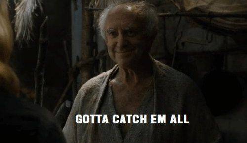 Game of thrones memes season 5 High Sparrow might have a problem.