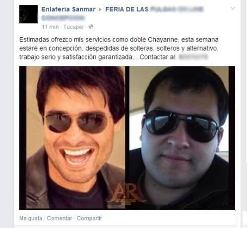 igual a chayanne