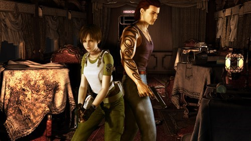 HD remake coming for resident evil zero