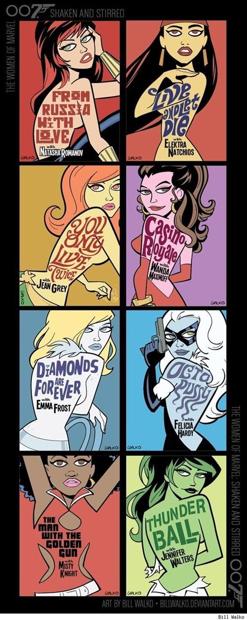 superheroes-marvel-bond-girls-mashup-art