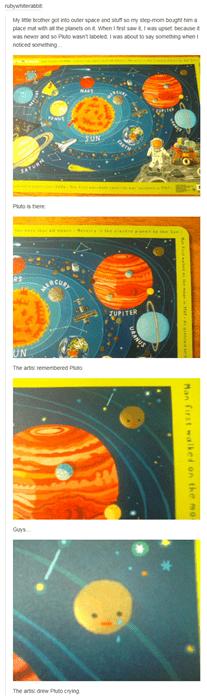 science funny pluto Poor Pluto