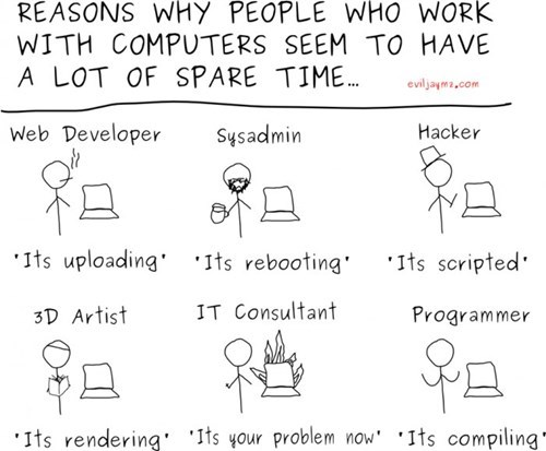 funny-web-comics-6-reasons-why-people-who-work-with-computers-seem-to-have-a-lot-of-spare-time