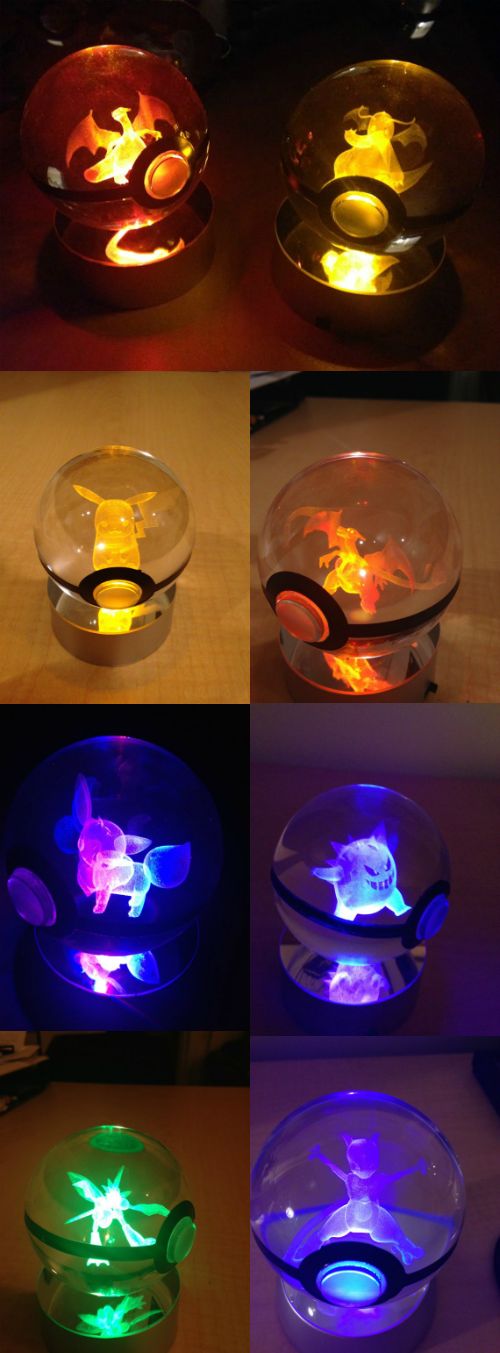pokemon memes cyrstal engraved pokeball for sale
