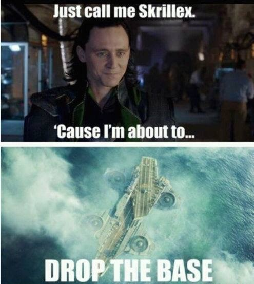 superheroes-loki-marvel-drop-the-base-pun-meme