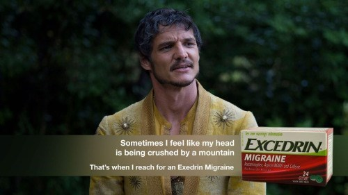 game of thrones memes season 5 Oberyn's head hurts.