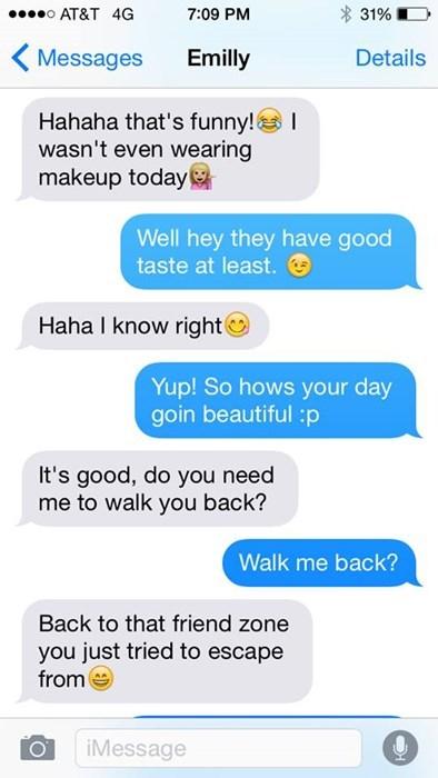dating friendzone text Sometimes You Need Help Establishing Boundaries