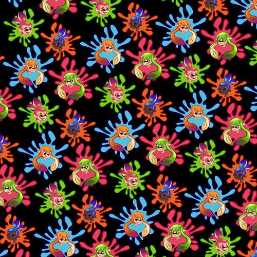 Adorable Fan-Made Splatoon Pattern