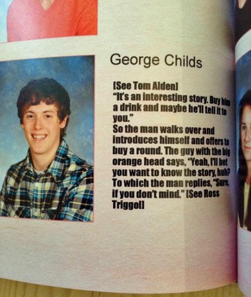 funny senior yearbook
