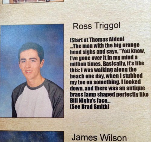 funny senior yearbook quote