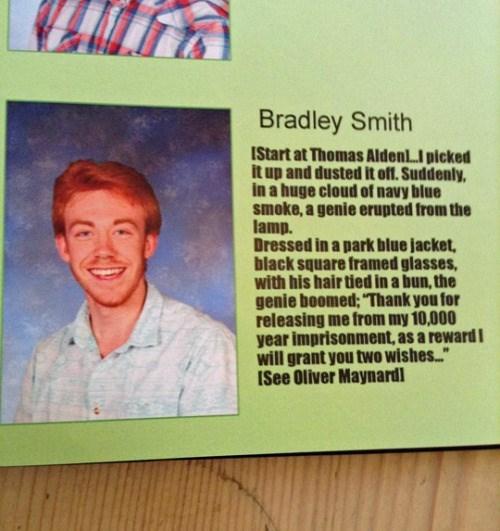 funny senior yearbook quote