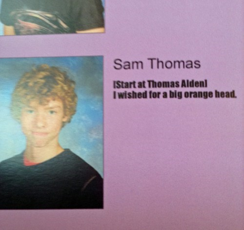 Funny Senior Yearbook quote do you get it