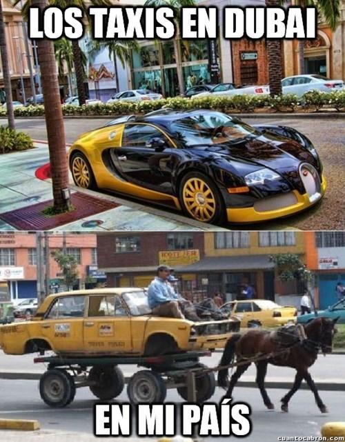 taxis en el mundo