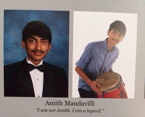 funny yearbook quote Use Your Powers for Good
